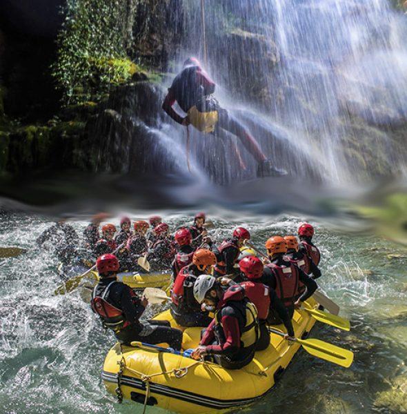 Descenso de barranco | Rafting Dinamic Adventure Montanejos