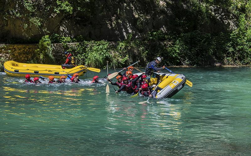 Dinamic Adventure Rafting Montanejos Que hacer en la comunidad valenciana